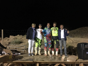 Podium SUPERCROSS NOCTURNO EN AUTOL