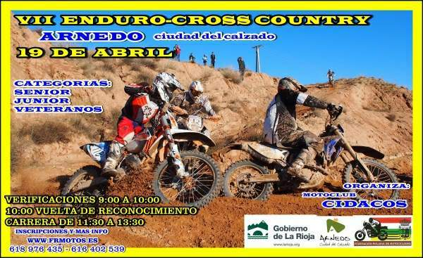 VII ENDURO CROSS COUNTRY ARNEDO 19 DE ABRIL